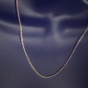 Jewelry - 14 K  solid gold rope chain